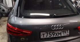 алюминиевая крышка багажника