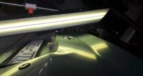 ремонт вмятины на крышке багажника