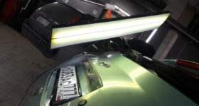 Удаление вмятин на крышке багажника
